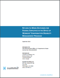 DOL return-to-work report cover 2019