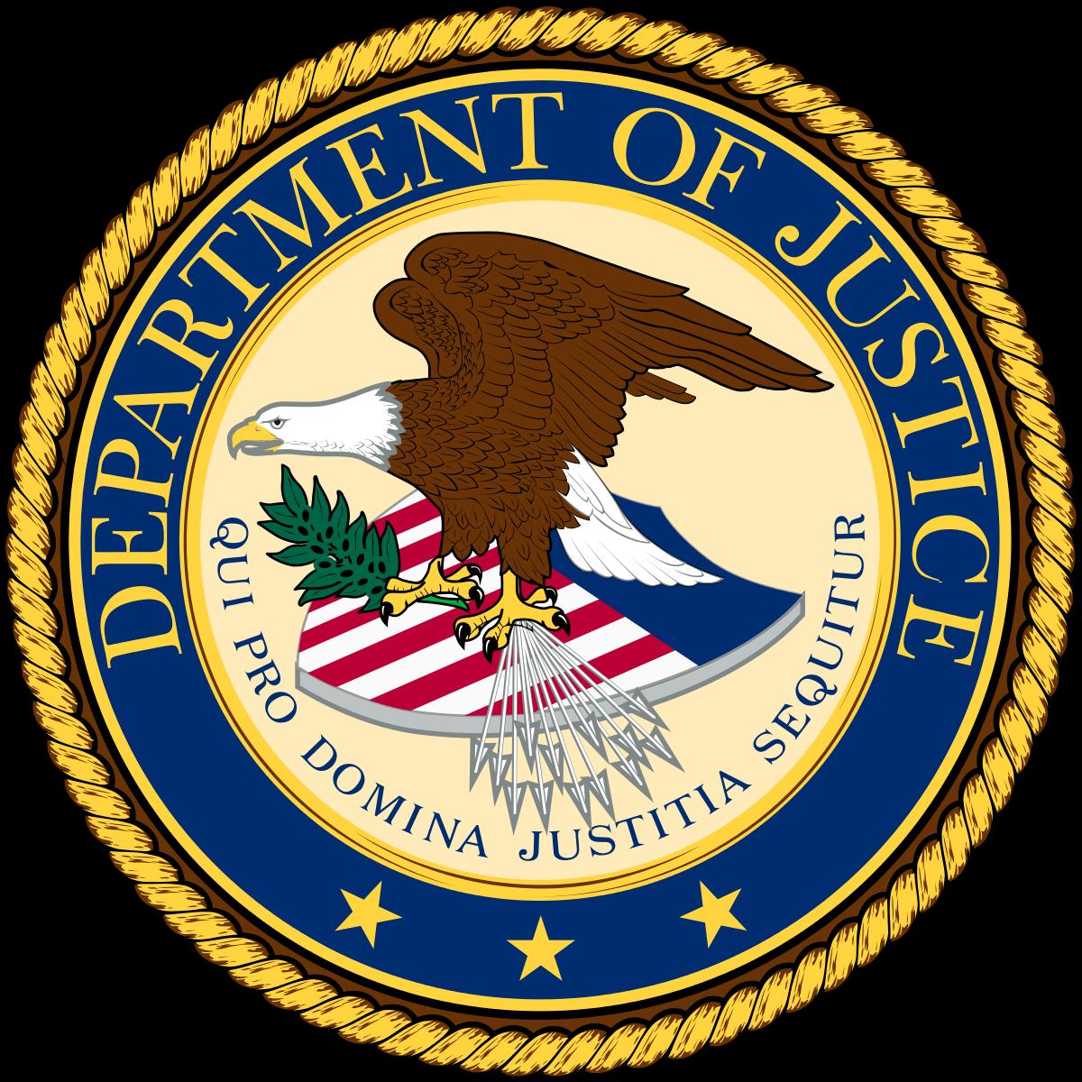 DOJ logo